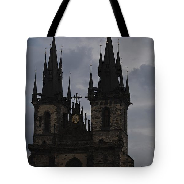 Tyn Curch Prague Tote Bag