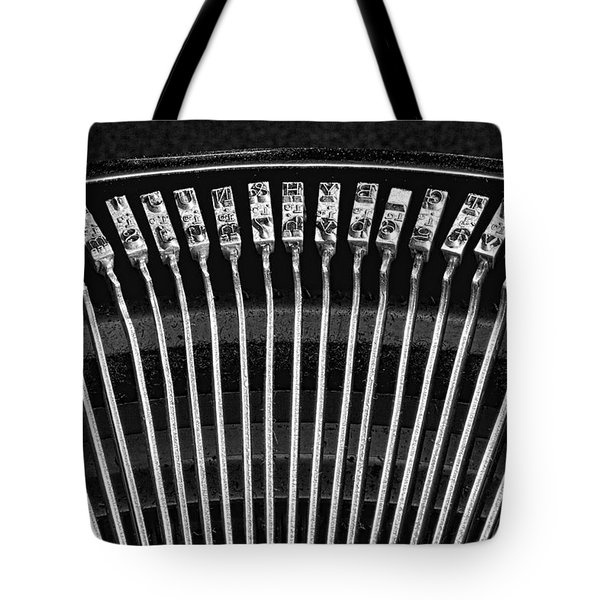 Typewriter Keys IIi Tote Bag by Tom Mc Nemar