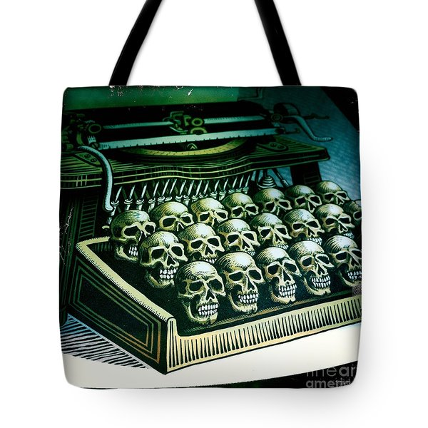 Typewriter With A Difference Tote Bag by Nina Prommer