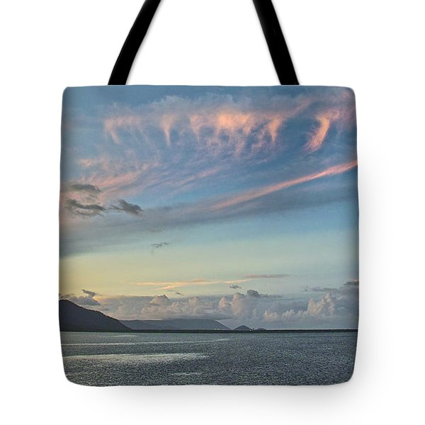 Typical Evening In Cairns Tote Bag by Jocelyn Kahawai