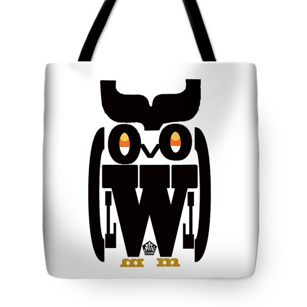 Typoowl Tote Bag by Seth Weaver
