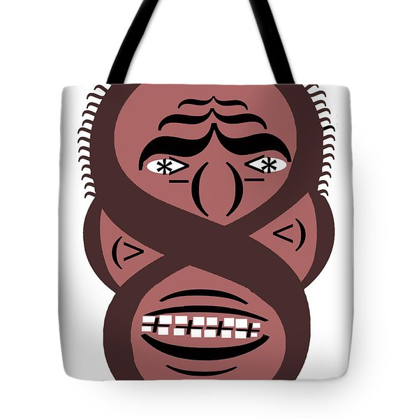 Typortraiture Obama Tote Bag by Seth Weaver