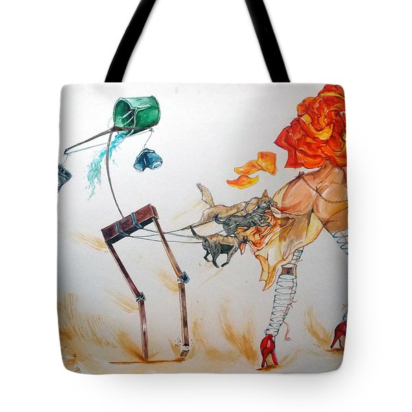 Tyrants Of Desire Tote Bag