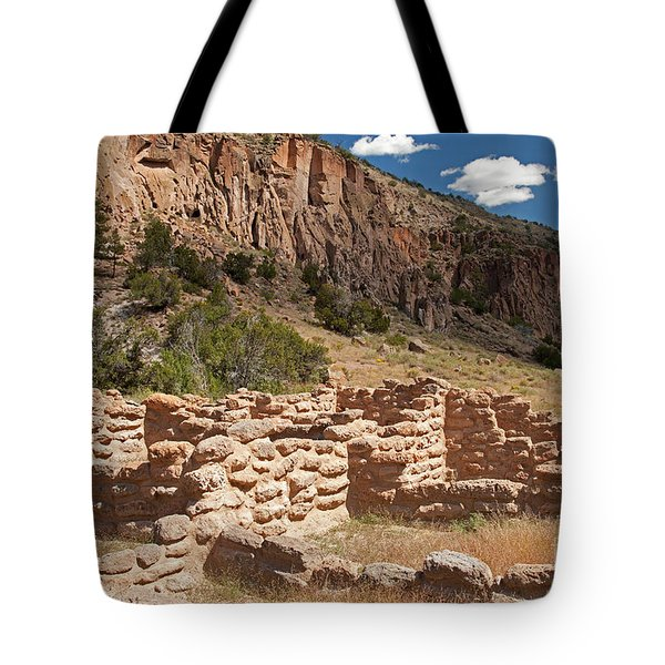 Tyuonyi Bandelier National Monument Tote Bag