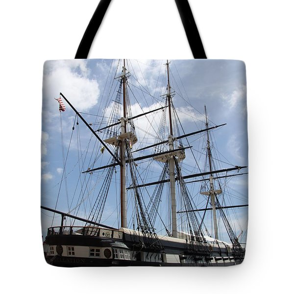 U S S  Constellation Tote Bag