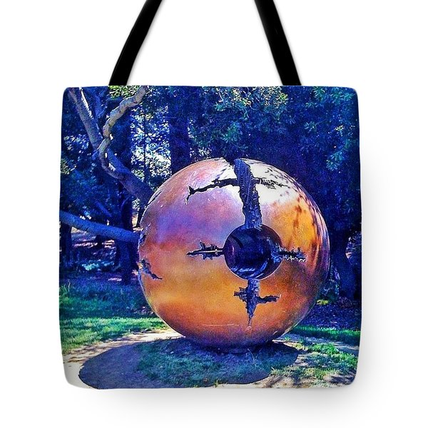 Uc Berkeley Orb For The Tote Bag