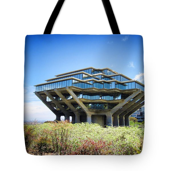 Ucsd Geisel Library Tote Bag
