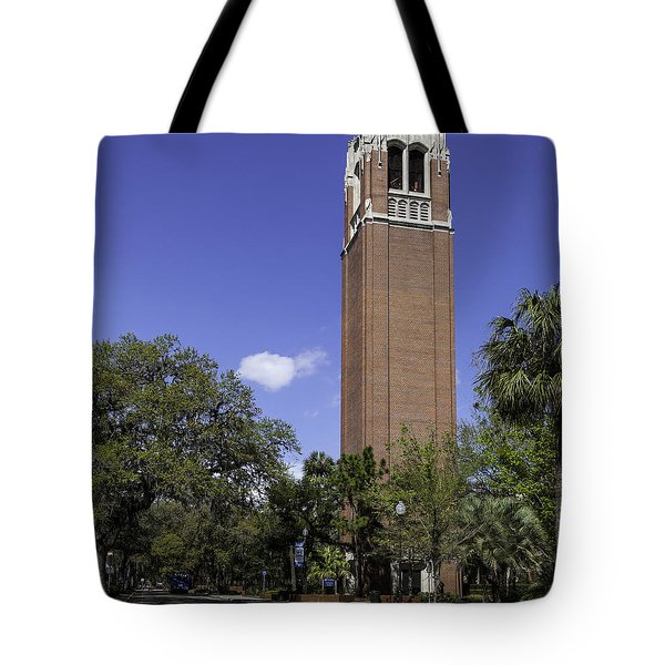 Uf Century Tower And Newell Drive Tote Bag