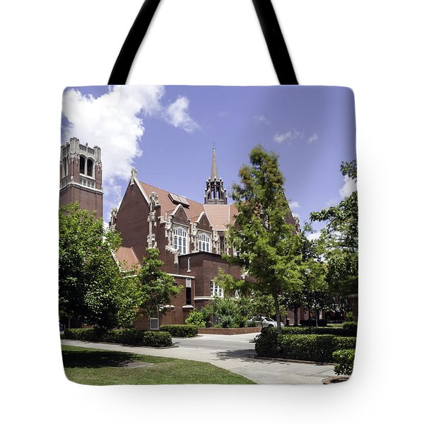 Uf University Auditorium And Century Tower Tote Bag