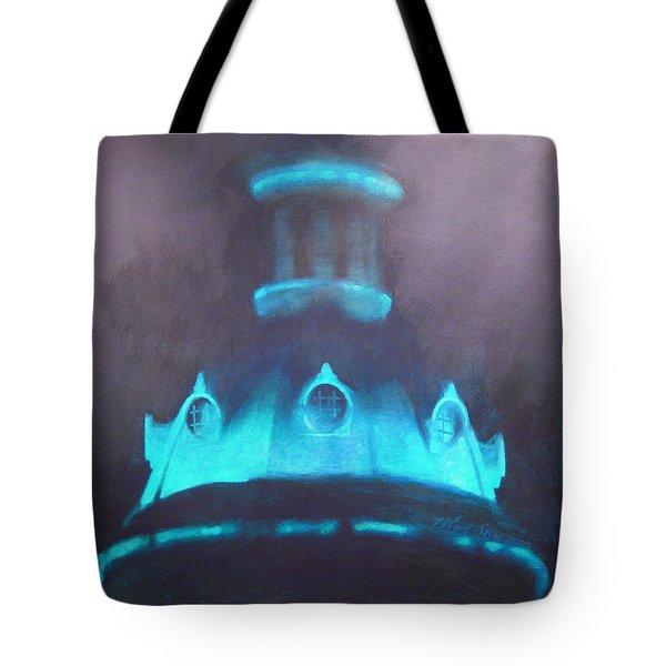 Ufo Dome Tote Bag by Blue Sky