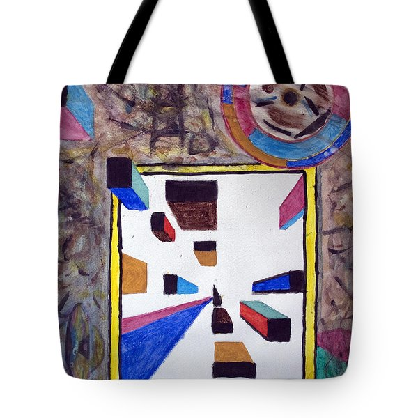 Ufo Wormhole Tote Bag by Stormm Bradshaw