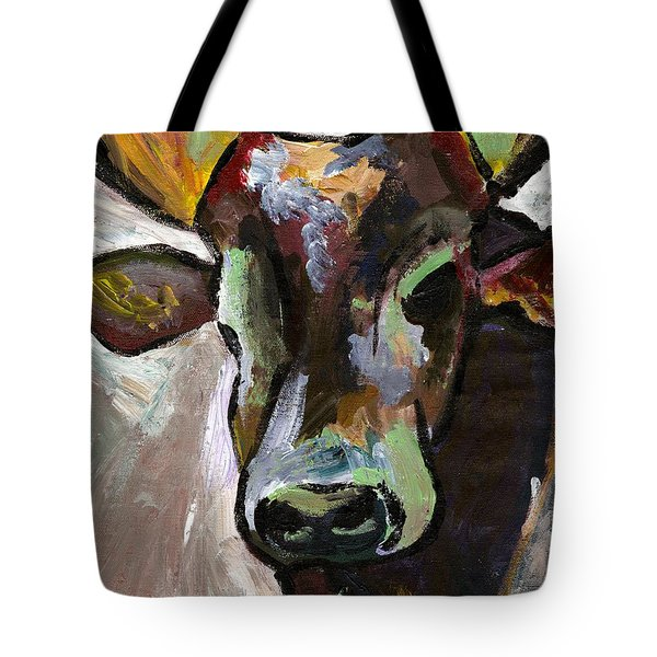 Ugandan Long Horn Cow Tote Bag
