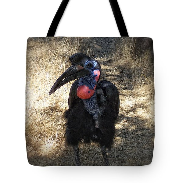 Ugly Bird Ball Tote Bag by Donna Blackhall