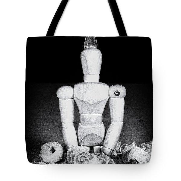 Uh Oh Screwed Again Tote Bag by Tom Mc Nemar