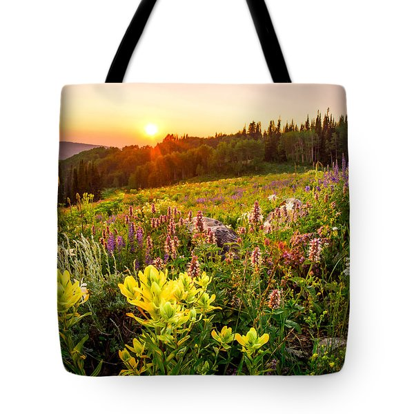 Uinta Wildflowers Tote Bag
