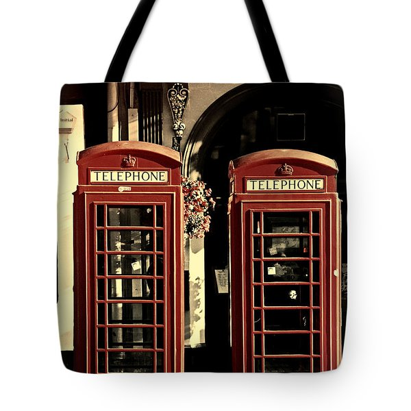 Uk Phone Box Tote Bag