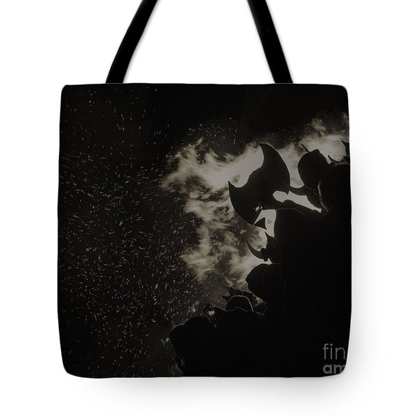 Tote Bag featuring the photograph Ullr Fest by Bitter Buffalo Photography