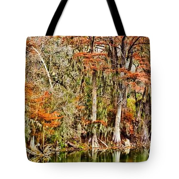Ultimate Cypress Panoramic Tote Bag