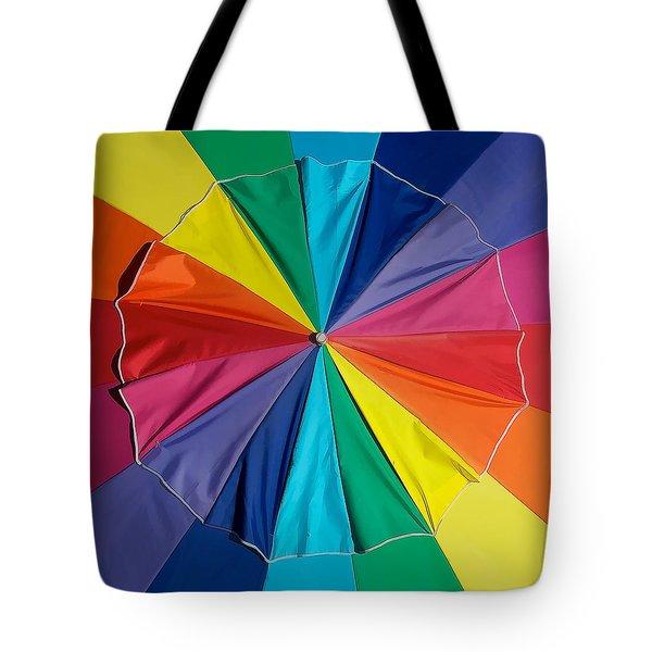 Umbrella Top Tote Bag