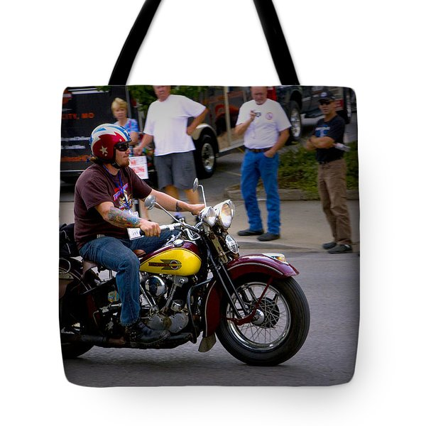 Un-named Crosscountry Harley Tote Bag