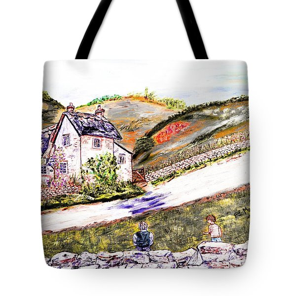 Tote Bag featuring the painting An Afternoon In June by Loredana Messina