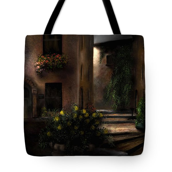 Una Notte Tranquilla - A Quiet Night Tote Bag