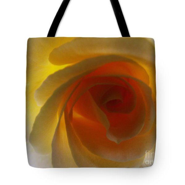 Tote Bag featuring the photograph Unaltered Rose by Robyn King