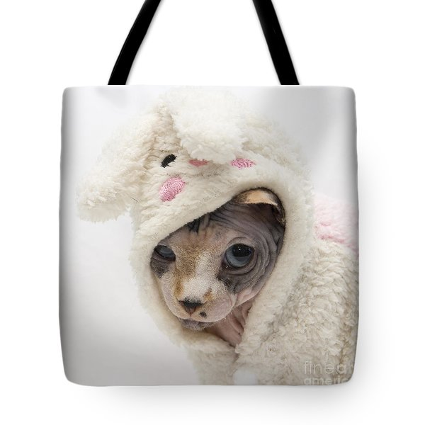 Unamused Tote Bag