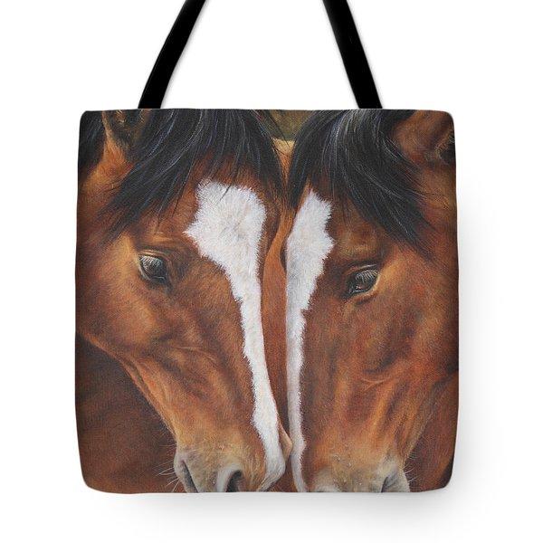 Unbridled Affection Tote Bag