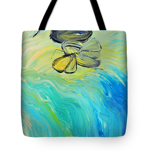 Uncaged Tote Bag by Lola Connelly