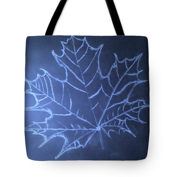 Tote Bag featuring the drawing Uncertaintys Leaf by Jason Padgett