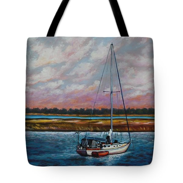 Uncharted Territory Tote Bag by Eve  Wheeler