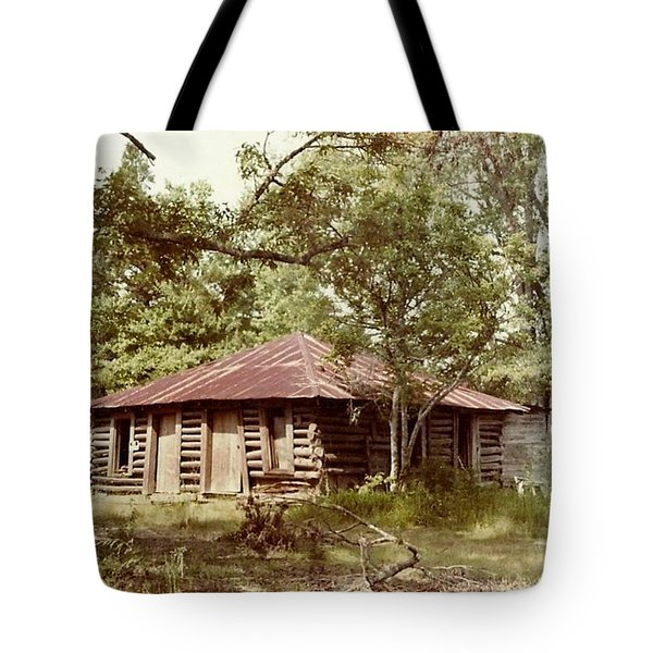 Uncle Toms Cabin Brookhaven Mississippi Tote Bag by Michael Hoard