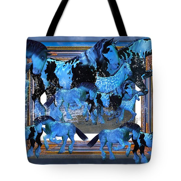 Unconfined World Confined Tote Bag