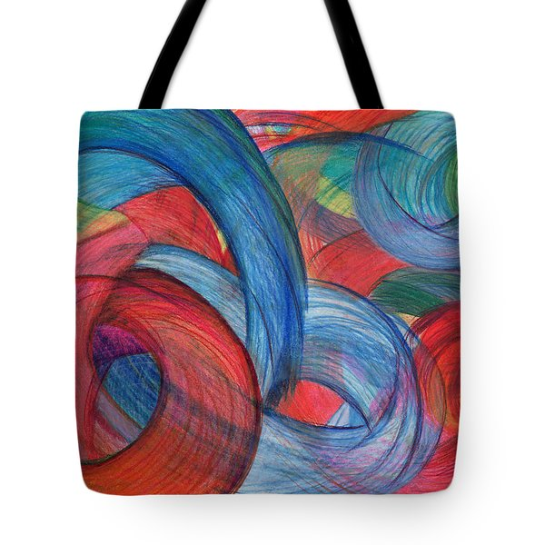 Uncovered Curves Tote Bag