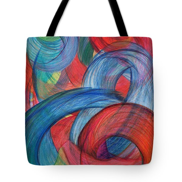 Uncovered Curves-vertical Tote Bag
