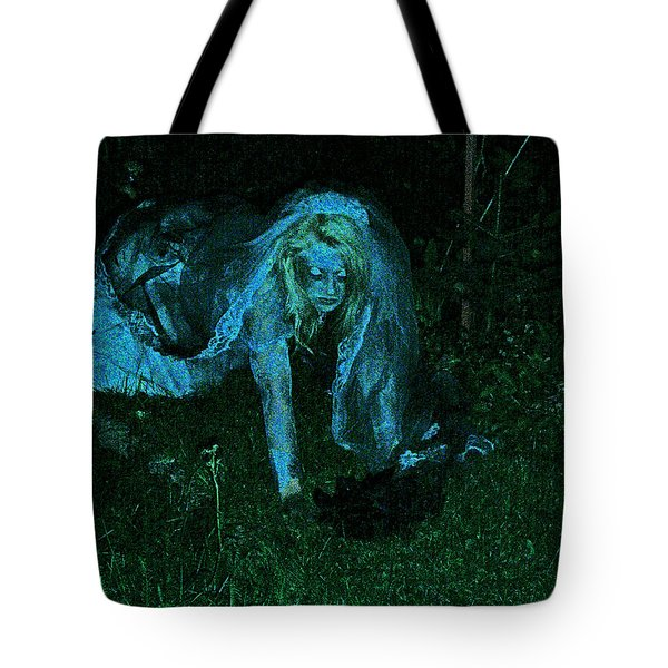 Undead Love Tote Bag by First Star Art