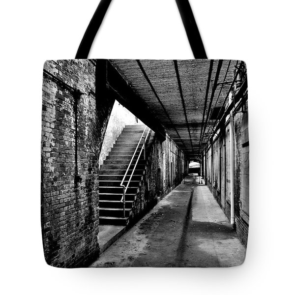 Under Alcatraz Tote Bag by Benjamin Yeager