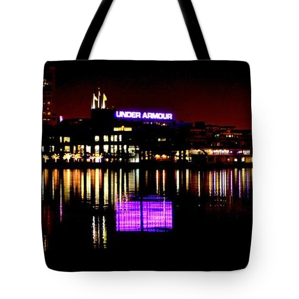 Under Armour At Night Tote Bag
