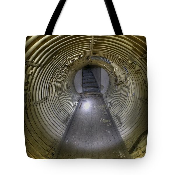 Under Bunker Tote Bag by Nathan Wright