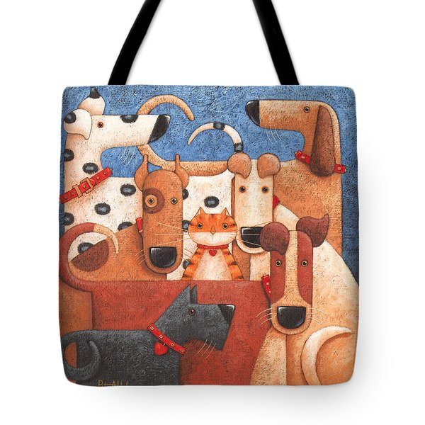 Under Cover Tote Bag by Peter Adderley