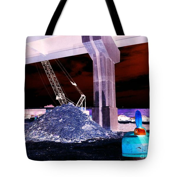 Under Pass Inverted Tote Bag by Jamie Lynn