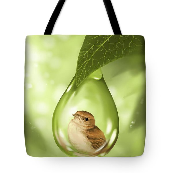 Under Protection Tote Bag
