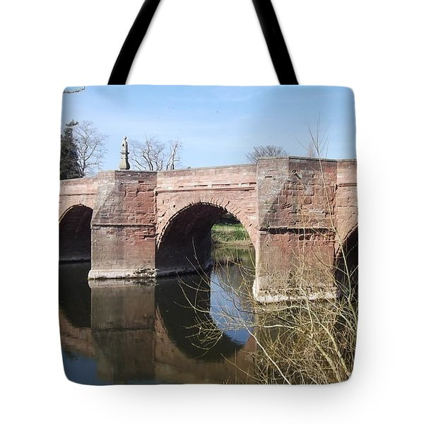 Under The Arches Tote Bag by Tracey Williams