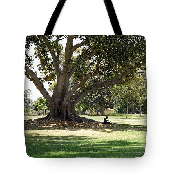 Under The Big Old Tree Tote Bag