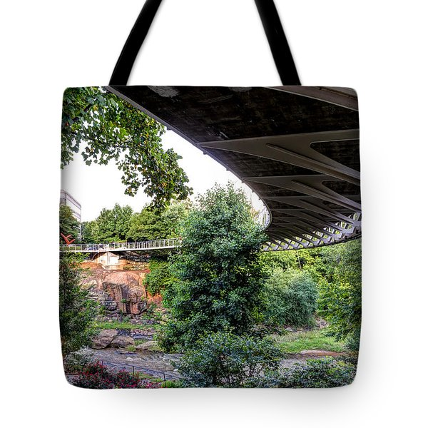 Under The Bridge Tote Bag