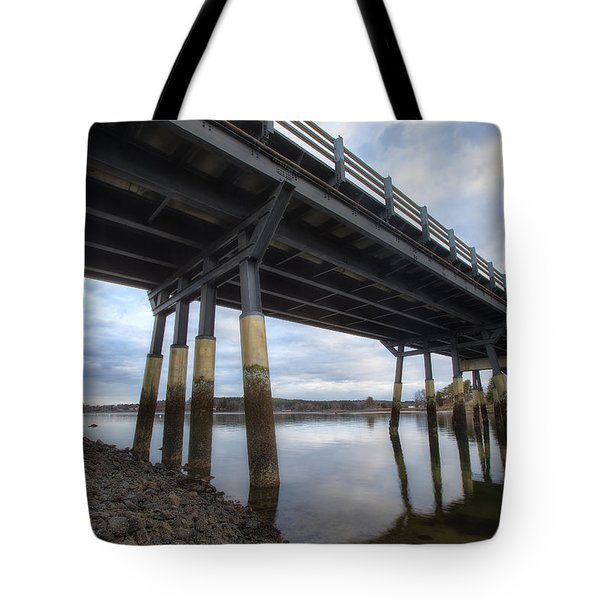 Under The Bridge Tote Bag by Eric Gendron
