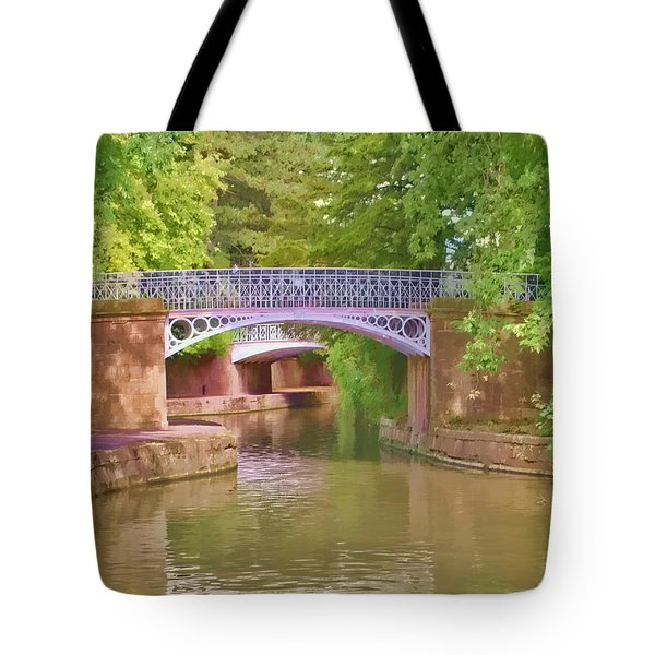 Under The Bridges Tote Bag