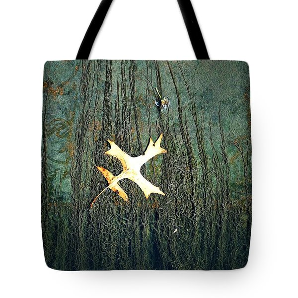 Under The Current Tote Bag by Lisa Plymell