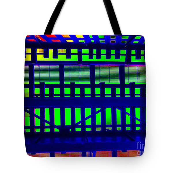 Under The El Train Tote Bag by Ed Weidman